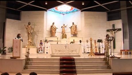 Vídeo de la Eucaristia del Festival de la Canción Misionera 2014