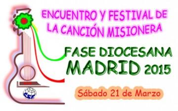 ASÍ HA SIDO EL ENCUENTRO Y FESTIVAL DIOCESANO DE LA CANCIÓN MISIONERA EN MADRID 2015