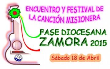 ZAMORA – ENCUENTRO Y FESTIVAL DIOCESANO DE LA CANCIÓN MISIONERA 2015