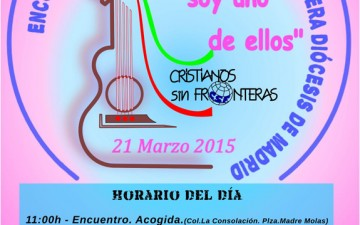 MADRID – ENCUENTRO Y FESTIVAL DIOCESANO DE LA CANCIÓN MISIONERA 2015