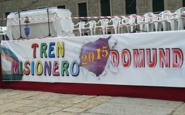 PRIMERAS FOTOS DEL TREN MISIONERO – DOMUND 2015 – Esperamos las tuyas.