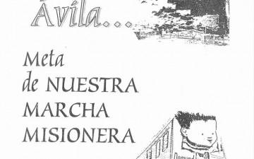 2002-TREN MISIONERO – ÁVILA-DOMUND