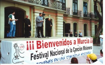 2000-FESTIVAL NACIONAL DE LA CANCIÓN MISIONERA DE JÓVENES EN MURCIA