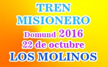 TREN MISIONERO – Domund 2016