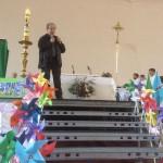 Saludo de D.Anastasio Gil al final de la Eucraistía