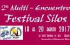 II MULTI-ENCUENTRO FESTIVAL SILOS – 18 AL 20 AGOSTO 2017