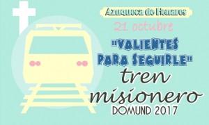 TREN MISIONERO -DOMUND 2017 – AZUQUECA DE HENARES – 21octubre