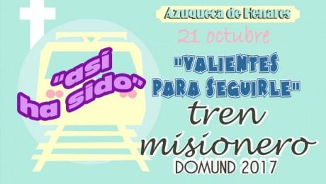 TREN MISIONERO DOMUND 2017-Azuqueca de Henares