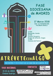 cartel diocesanos 2018-madrid