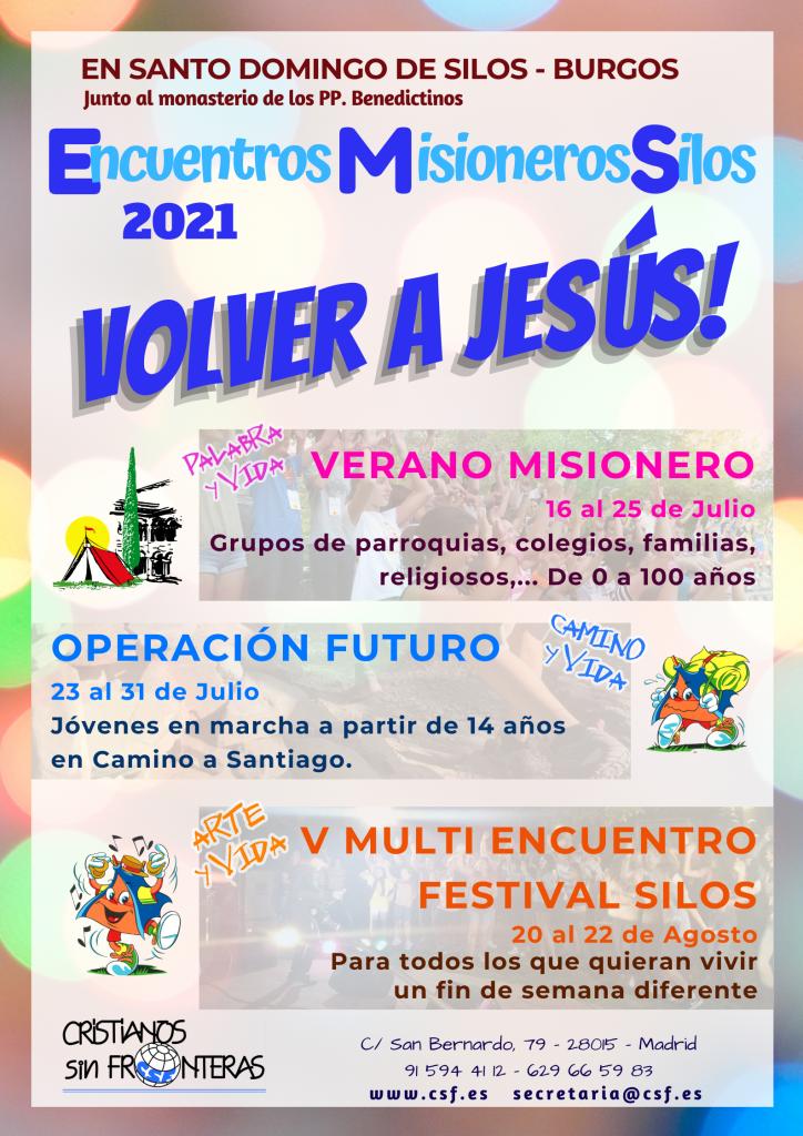 La imagen tiene un atributo ALT vacío; su nombre de archivo es 2021-Cartel-Encuentros-Misioneros-Silos-724x1024.png